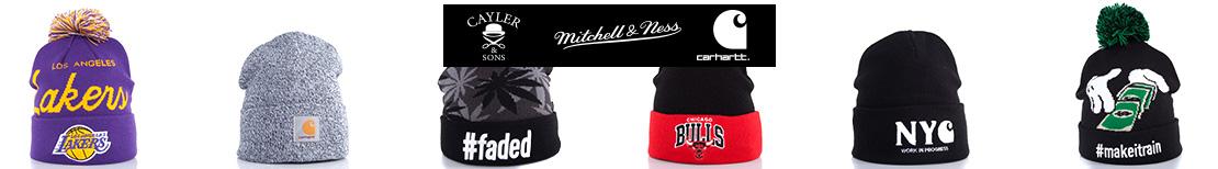 Oferta czapek zimowych Carhartt, Mitchell & Ness oraz Cayler & Sons