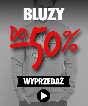 WYPRZEDAŻ bluz - do -50%