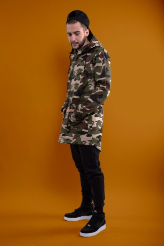 drop#3 - Backyard Cartel woodland camo + Nike Air Force + Czaka Stussy