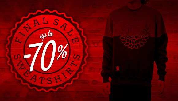 Final sale -70% - sweatshirts