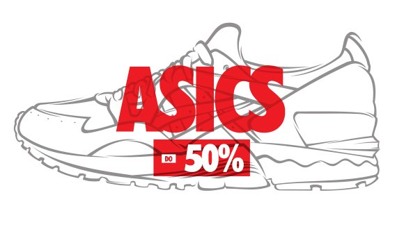 Asics. Sneaker Sale do -50%