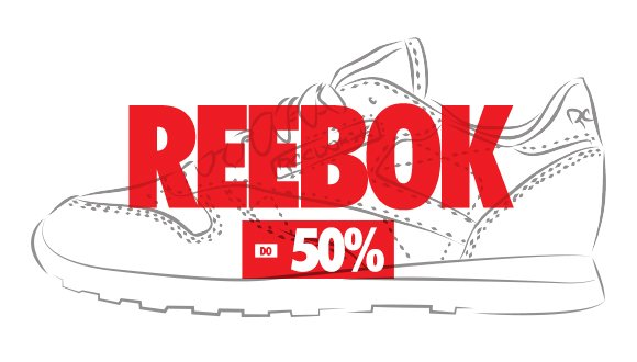 Reebok. Sneaker Sale do -50%