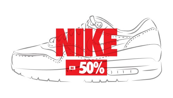 Nike. Sneaker Sale do -50%