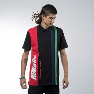 Koka International Polo black / red