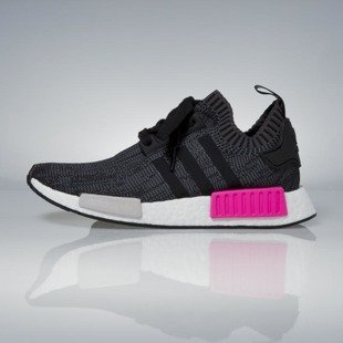 Adidas Originals NMD_R1 PK WMNS core black / shock pink