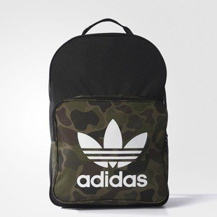 Adidas Originals backpack BP Clas Trefoil black / multicolor BK7214