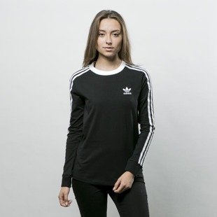 Adidas Originals longsleeve 3Stripes LS Tee black BK5873