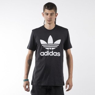 Adidas Originals t-shirt Orig Trefoil black (AJ8830)