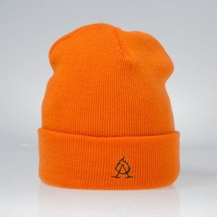 Admirable Corrupted Beanie orange