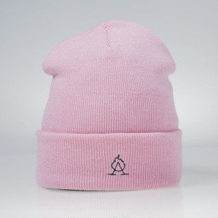 Admirable Corrupted Beanie pink