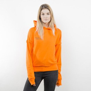 Admirable hoodie Corrupted Doc WMNS orange