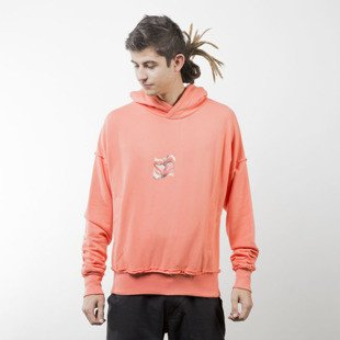 Admirable hoodie Corrupted Kiss coral