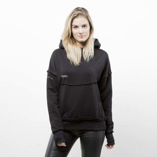 Admirable hoodie Dragon black