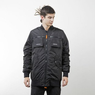 Admirable winter jacket Corrupted Bomber black