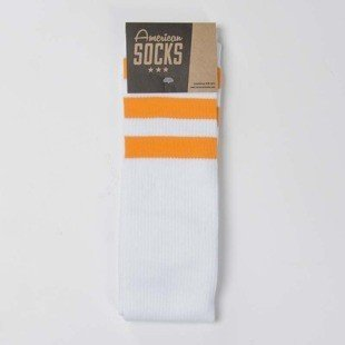 American Socks Sunrise - Knee High white / orange - orange - orange