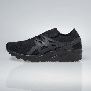 Asics Gel-Kayano Trainer Knit black / black H705N-9090