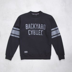 Backard Cartel sweatshirt  crewneck Back Sport black
