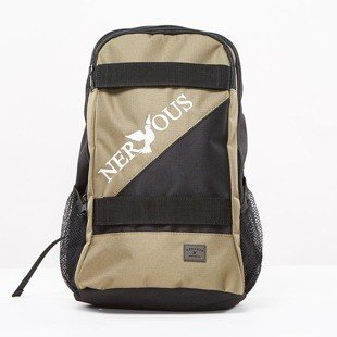 Backpack Nervous Classic black / olive