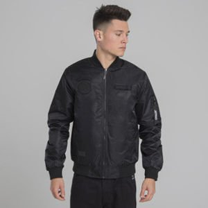 Backyard Cartel Apocalypse Bomber Jacket black