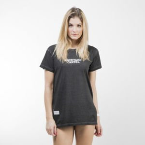 Backyard Cartel Back 2 Back T-Shirt Womens washed black QUICKSTRIKE