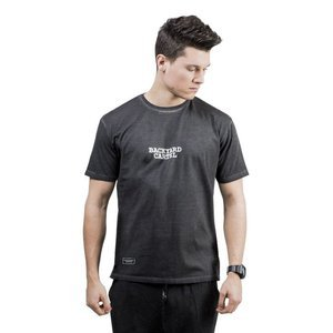 Backyard Cartel Back 2 Back T-Shirt washed black QUICKSTRIKE