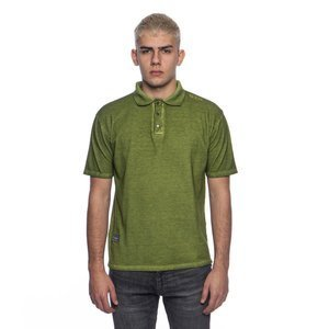 Backyard Cartel Combat Polo Shirt washed khaki SS2017