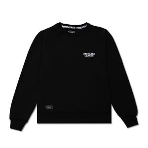 Backyard Cartel Crewneck Back Label black FW2017