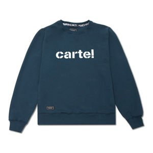 Backyard Cartel Crewneck Disaster navy FW2017