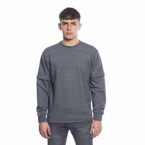 Backyard Cartel Crewneck Raptor heather grey