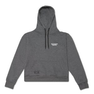 Backyard Cartel Hoody Back Label dark heather grey FW2017