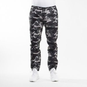 Backyard Cartel Joggers pants Black Wood black camo