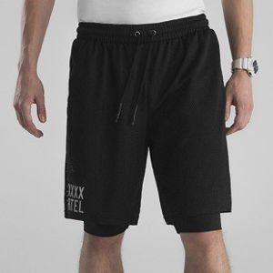 Backyard Cartel Shorts Transition black