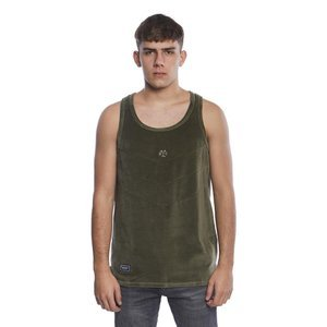 Backyard Cartel Tank Top Smooth khaki SS2017