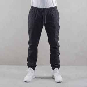 Backyard Cartel chino Trip jogger fit black