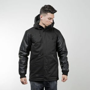 Backyard Cartel jacket Baseball Parka black