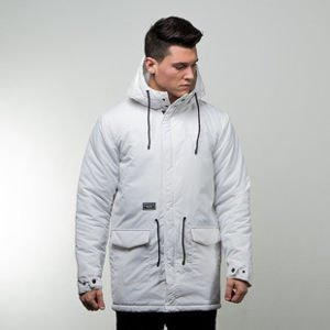 Backyard Cartel jacket Parka Long Inset white QUICKSTRIKE