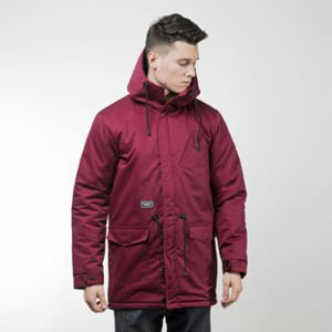 Backyard Cartel jacket Parka Long claret QUICKSTRIKE