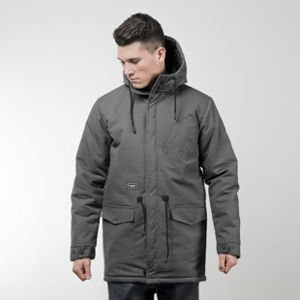 Backyard Cartel jacket Parka Long grey QUICKSTRIKE