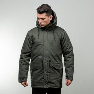 Backyard Cartel jacket Parka Long khaki QUICKSTRIKE