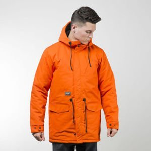 Backyard Cartel jacket Parka Long orange QUICKSTRIKE