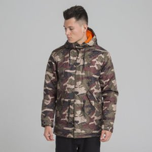 Backyard Cartel jacket Parka Padded camo