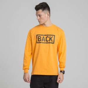Backyard Cartel longsleeve Inset orange