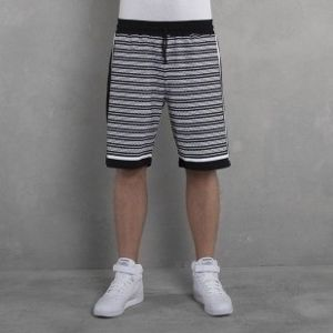 Backyard Cartel  shorts Kefija black / white