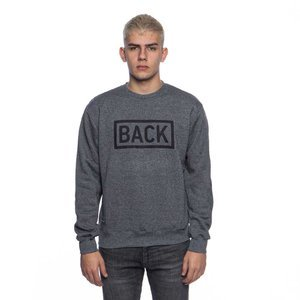 Backyard Cartel sweatshirt Inset crewneck dark grey heather