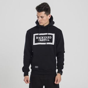 Backyard Cartel sweatshirt Label Logo hoody black