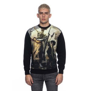 Backyard Cartel sweatshirt Liberte black Illustrated