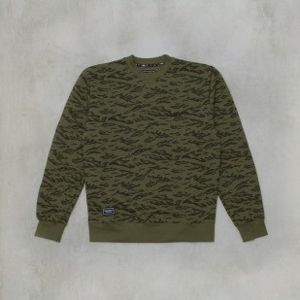 Backyard Cartel sweatshirt Terra crewneck dkhaki