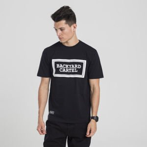 Backyard Cartel t-shirt Label Logo black