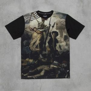 Backyard Cartel t-shirt Liberte black Illustrated