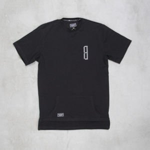 Backyard Cartel t-shirt Rugged long fit black